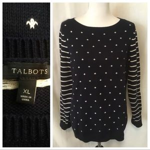 EXC Condition - Talbots Crew Neck Sweater - XL